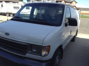 1995 Ford E-150  service van (must see pics inside)