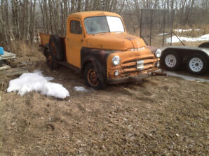 All original 1951 Dodge pick up