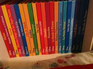 Belle collection de livres Disney