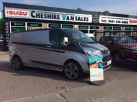 64 REG TRANSIT CUSTOM 2.2 290 LIMITED 125 BHP LWB CRUISE A/C NO A M SPORT 7 DAYS