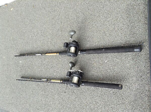 Two Cabelas Rods & Reels