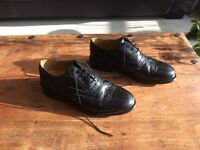 Men's, Marks and Spencer, Black Leather Brogues, Size 7.5 / 41