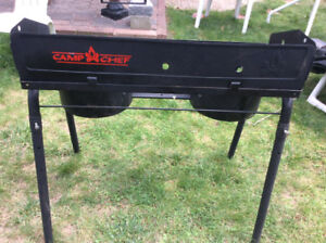 CAMP CHEF EXPLORER - 2 BURNER GAS STOVE FOR OUTDOORS