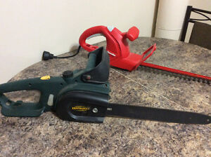 Chain Saw/Hedge Clippers