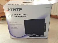 THTF 19inch HD ready LCD TV with DVD player