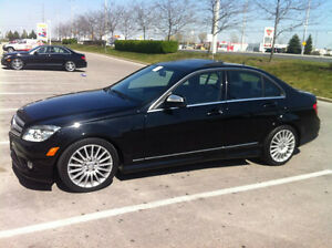2009 Mercedes-Benz C-Class 230 4-matic Sedan
