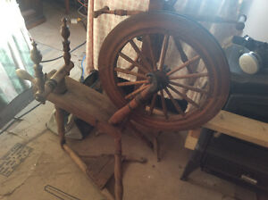 Antique Spinning Wheel St. John's Newfoundland image 1