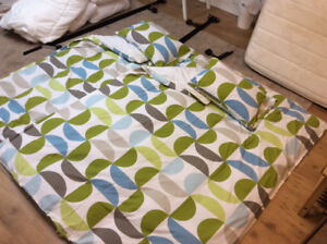 Twin Duvet and Cover (2 sets $40 ea)