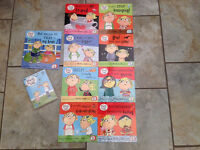 Selection of Charlie & Lola books plus DVD
