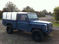 Land rover defender hi cap 110 pickup 2.5 tdi 300 diesel 1994 m reg