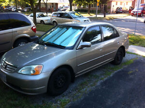 2001 Honda Civic Sedan Oakville / Halton Region Toronto (GTA) image 1