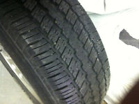 4 pneux continental p235 70 r16 104t m*s avec4 mag ford