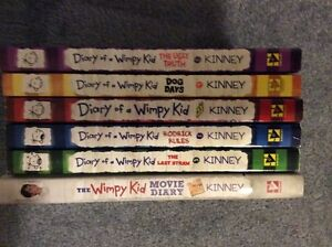 BUBBA - Diary of a Wimpy Kid books