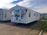 Static Caravan Clacton-on-Sea Essex 3 Bedrooms 8 Berth Swift Burgundy 2014 St