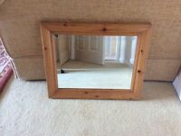Small Pine Mirror