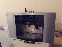 Zanussi build in coffee macine