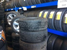 Car Tyres Van Tires Partworn Tyre Used Second Hand Tire Part Worn commercial tyres