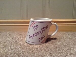 """The Morning After"" humerous coffee mug Kitchener / Waterloo Kitchener Area image 1"