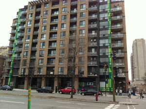 Near Berri/UQAM - 3-1/2 Condo for Rent