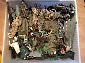 Box of Army Toys