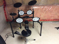 Roland V-Drum Drum Kit with Mess Heads