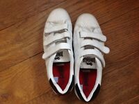 Lonsdale white trainers