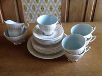 Vintage Windsor Athene Fine Bone China Tea Set