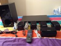 Panasonic 3D blu-Ray home theatre system