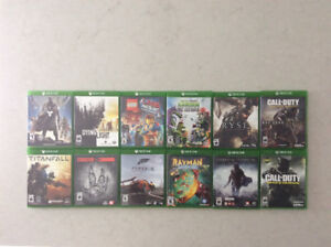 Xbox One Games - 12 Exclusive Video Games