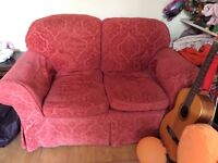 2 SEATER & 3 SEATER FABRIC SOFAS, SOLID FRAMES, HALL GREEN, B28