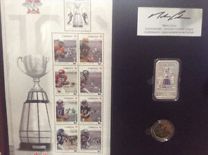 100th Grey Cup Limited edition CFL Fan Set Peterborough Peterborough Area image 5