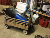 WAGON FOR FLYERS  AT ST JAMES MOVING SALE
