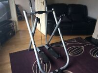 cross trainer excersise machine