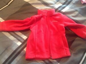 Red Columbia jacket, 18-24 month