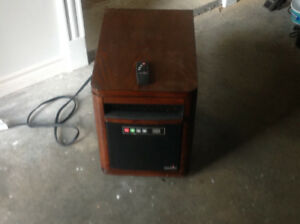 Duaflame portable infrared Quartz heater/ remote