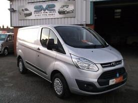 2014 FORD TRANSIT CUSTOM SWB 290 TREND 125 BHP IN SILVER 29000 MILES CHOICE OF
