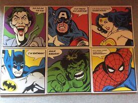 6 super hero pictures