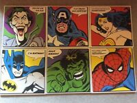 6 super hero pictures