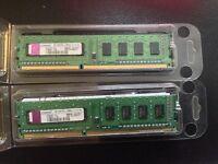2GB PC3-10600U-9-10-A0 Ram