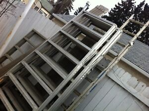 Siding equipment for sale poles, planks , benches , hoses, etc