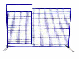 Fence Panels with Gate