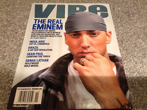 Lot of two eminem magazines mint condition Vibe and  XXL Rap