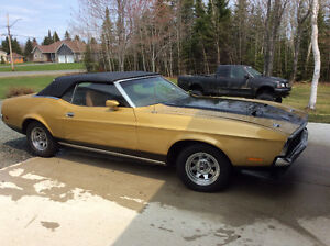 72 Ford Mustang Convertible