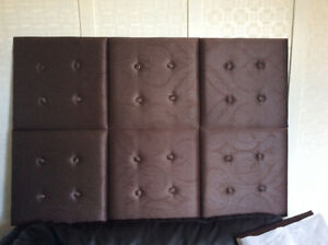 HEADBOARD FITS QUEEN OR DOUBLE SIZE BED IN EXCELLENT CONDITION