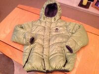 Boys next reversible padded winter coat in good condition size 6 years.
