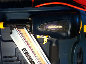 NEW Mastercraft 3 1/2 Nailer, brad nailer
