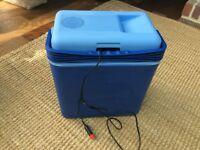 Camping fridge cool box plug in