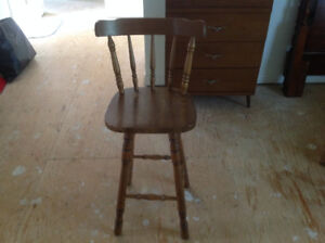 Wood chair/stool