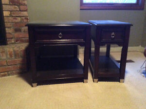 Pair of End Tables  / Occasional Tables