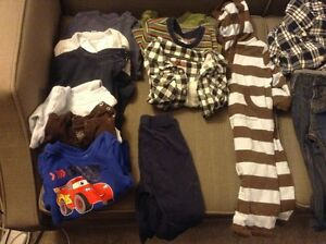 Box of boy's 6-12 months fall/winter clothes Kitchener / Waterloo Kitchener Area image 2